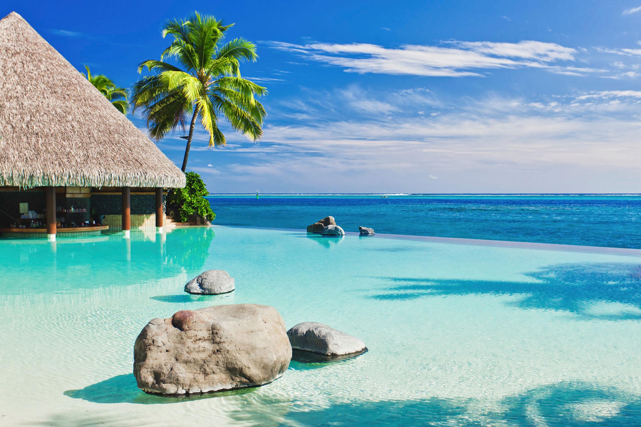 Tahiti est une île animée