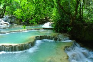Laos Chutes deau