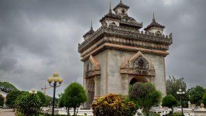 Laos Vientian patuxai