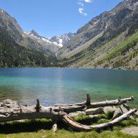 La vallée de Cauterets dans les Pyrénées, été comme hivers