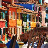 Île de Burano à Venise, pour en prendre plein les yeux