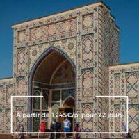Voyage culturel en Ouzbékistan