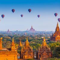 Survoler Bagan en montgolfière, une expérience inouïe