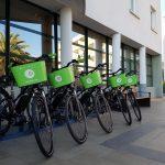 Les vélos électriques Appebike sur les bornes