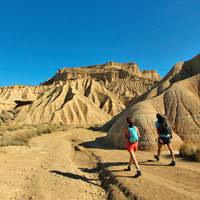 Rando dans le désert des Bardenas en Espagne