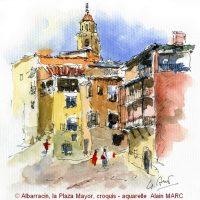 Venez découvrir un Aragon insoupçonné, le pinceau à la main!