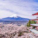Quand le soleil se lève au Mont Fuji…