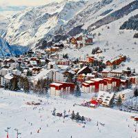 La station de ski Les Ménuires pour une location aux pieds des pistes savoyardes